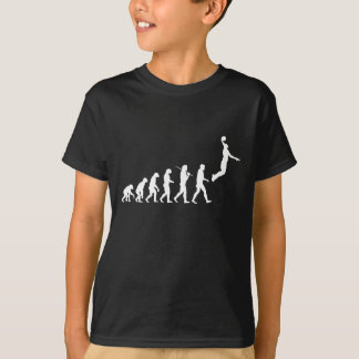 Évolution - saut de basket-ball t-shirt