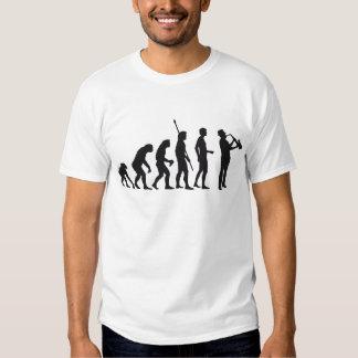 Évolution saxophon t-shirt
