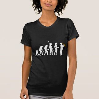 Évolution saxophon t-shirts