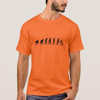"""""""Évolution T-shirt d'homme handicapé"""""""
