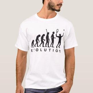 évolution tennis t-shirt
