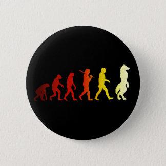Évolution velue badge