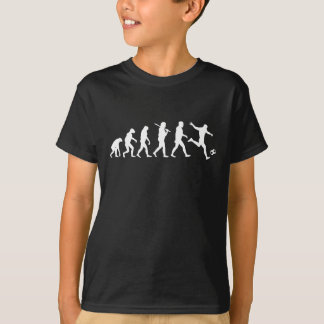 Évolution W du football T-shirt