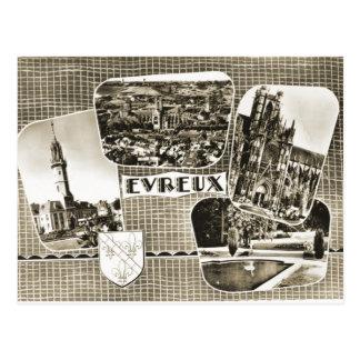 Evreux, carte tôt de multiview