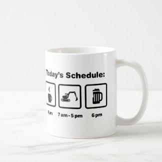 Excavatrice Mug
