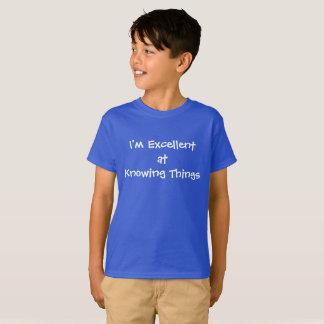 Excellent à savoir des choses t-shirt