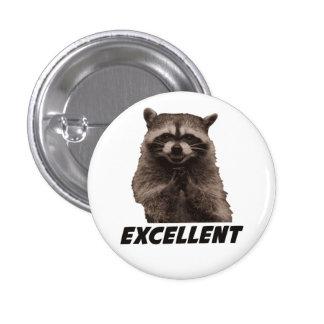 Excellent raton laveur mauvais de traçage badge