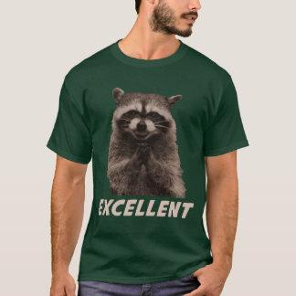 Excellent raton laveur mauvais de traçage t-shirt