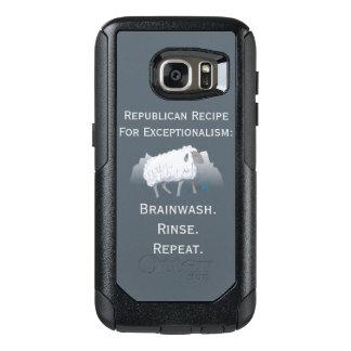 """""""Exceptionalism"""" républicain : Lavage de cerveau Coque OtterBox Samsung Galaxy S7"""