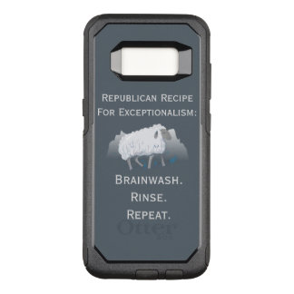 """""""Exceptionalism"""" républicain : Lavage de cerveau Coque Samsung Galaxy S8 Par OtterBox Commuter"""