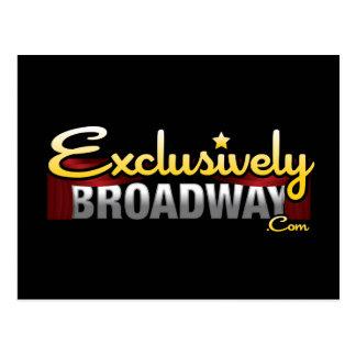 ExclusivelyBroadway.com Carte Postale