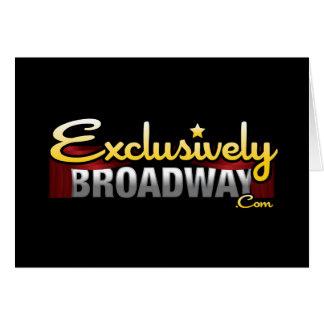 ExclusivelyBroadway.com Cartes De Vœux