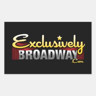 ExclusivelyBroadway.com Sticker Rectangulaire