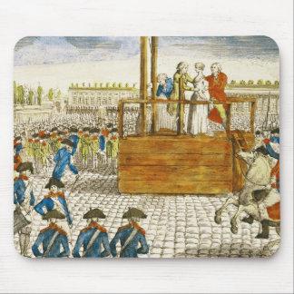 Exécution de Marie-Antoinette Tapis De Souris