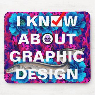 exemple de conception graphique tapis de souris