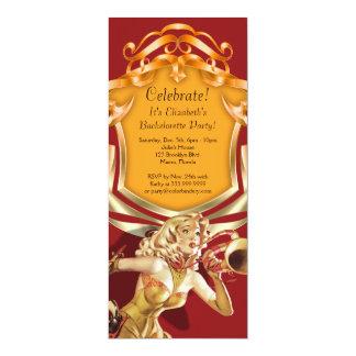 Exigez l'invitation de partie de 4 x 9,25 pouces carton d'invitation  10,16 cm x 23,49 cm