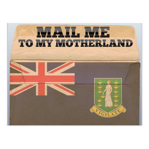 Expédiez-moi en Îles Vierges britanniques Carte Postale