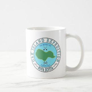 Expédition de mine d'argent d'île de chêne mug