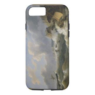 Expédition outre d'un littoral en mer agitée coque iPhone 7
