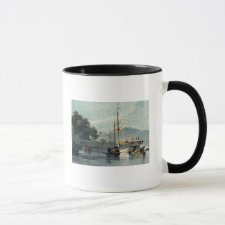 Expédition sur une rivière chinoise mug