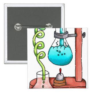 Expérience de chimie badges