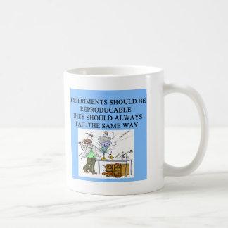 expériences de chimie mug blanc