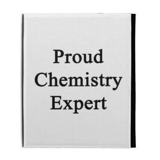 Expert en matière fier de chimie coques iPad