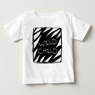 Explorateur sauvage de jungle de chemise d'enfant t-shirt pour bébé