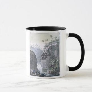 Explorateurs avec l'expédition de Humboldt dans le Mug