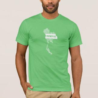 Exploration culturelle Thaïlande dans des couleurs T-shirt