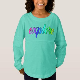 Explorez la chemise surdimensionnée de tunique de maillot