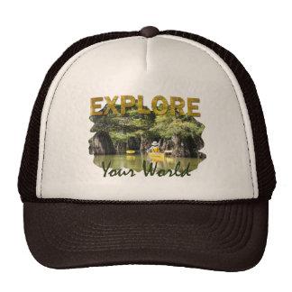 Explorez votre monde casquettes
