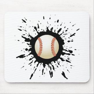 Explosion de base-ball tapis de souris