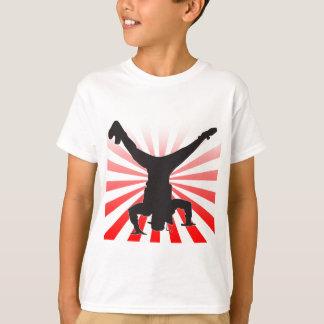 explosion de break dance t-shirt