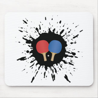 Explosion de ping-pong tapis de souris