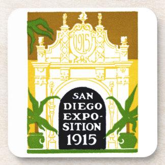 Exposition 1915 de San Diego Dessous-de-verre