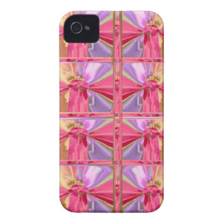 Exposition heureuse de diamant de motif de sourire coques Case-Mate iPhone 4
