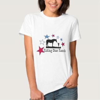 Exposition que vous soutenez avec le logo de ranch t-shirt