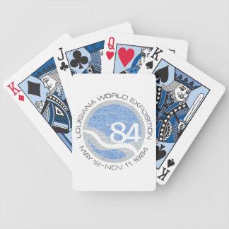 Exposition universelle 84 jeu de cartes