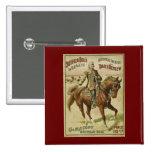 Expositions sauvages de journal d'ouest de Buffalo Badges