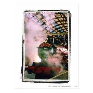 Express de Hogwarts Cartes Postales