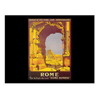Express luxe du train De Rome du pair le Carte Postale