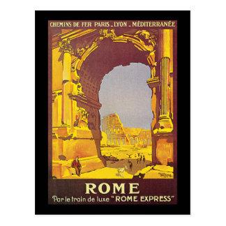 Express luxe du train De Rome du pair le Cartes Postales