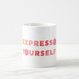 Express vous-même mug