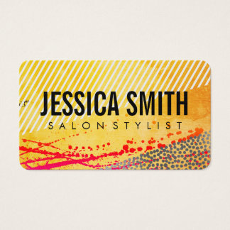 Expressif moderniste cartes de visite