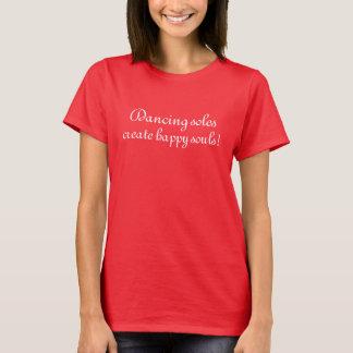 expression de T-shirt de danse