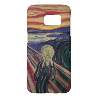 Expressionisme vintage, le cri perçant par Edvard Coque Samsung Galaxy S7