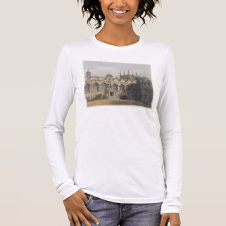 Extérieur de l'université d'Oriel, illustration de T-shirt À Manches Longues