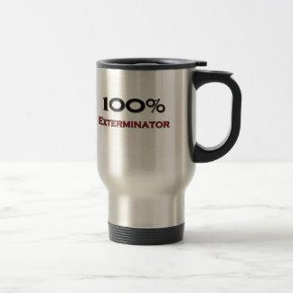 Exterminateur de 100 pour cent mug de voyage