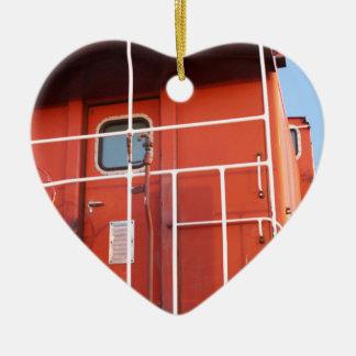 Extrémité de la ligne ornement cœur en céramique